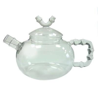 003881 Чайник стекло 600ml с фильтром в носике, дно d90 мм.