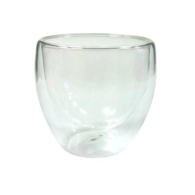 003886 Чашка с двойными стенками 140ml из жаропрочного стекла