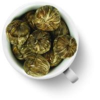 """52056 Связанный чай """"Хуа Хао Юэ Юань"""" Шарик с цветком лилии"""