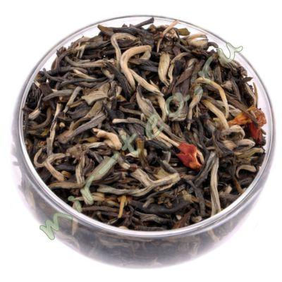 """52096 Жасминовый чай """"Моли Да Бай Хоу"""" Большой белый ворс"""