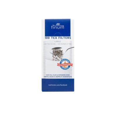 94502 Фильтр-пакеты для заваривания чая Finum, размер L , уп. 100 шт