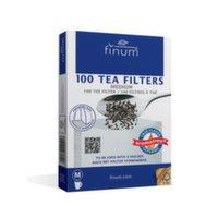 94503 Фильтр-пакеты для заваривания чая Finum, размер M , уп. 100 шт
