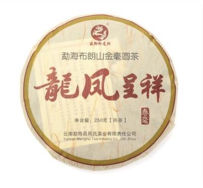 BT-036 Чай пуэр Старое дерево, Шу, Блин 250 г