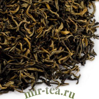 """BT-061 Красный чай """"Красный чай """"Цзинь Хао Дянь Хун"""" Золотая обезьяна кат. 1, 2019г."""