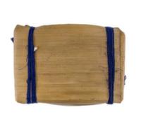 BT-063/1 Чай пуэр Плитка №2 в бамбуковом листе Синяя Лента, Шу 250 г