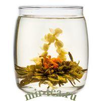 """GT-003 Связанный чай """"Бай Хуа Сянь Цзы"""" Лунный сад жасминовый"""