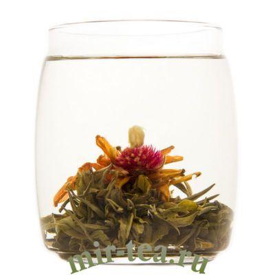 """GT-009A Связанный чай """"Священный Плод"""" с жасмином и ароматом кокосового молока"""