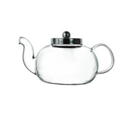 H-05 Чайник стеклянный Вишня 1000 мл