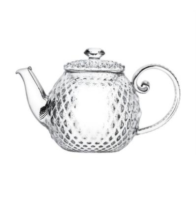 TP-119 Чайник стеклянный Алмаз 300 мл