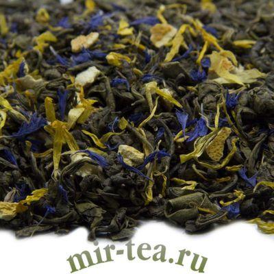 "W-311 Чай зеленый ""Лимон и Мята"""