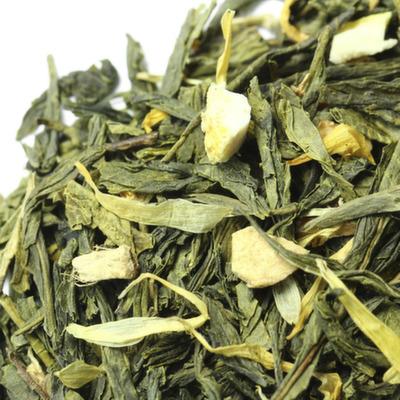 "W-312 Чай зеленый ""Лимон с имбирем"""