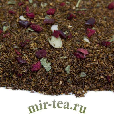 """W-604 Чайный напиток Ройбос """"Вишня с миндалем"""""""
