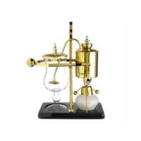 YJR-052/1 Сифон для варки чая или кофе. Золото, 450 мл